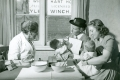 District nurse with M.O at the infant clinic -1950